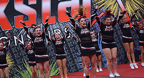 Local cheer squad shines at first regional qualifier