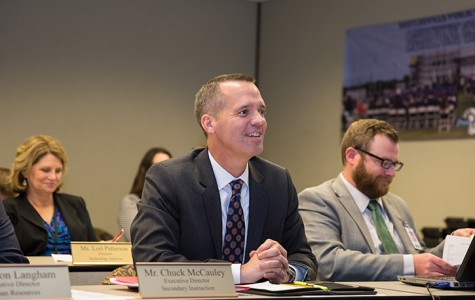 Bartlesville Board of Education approves employment of McCauley as successor to Quinn in March meeting