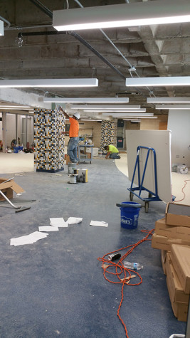 STEM lab construction nears an end