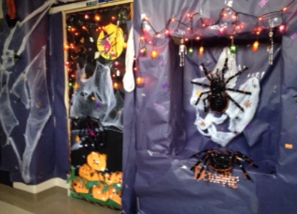 """""""Spooktacular"""" Entries Welcome Students to Their Classrooms"""
