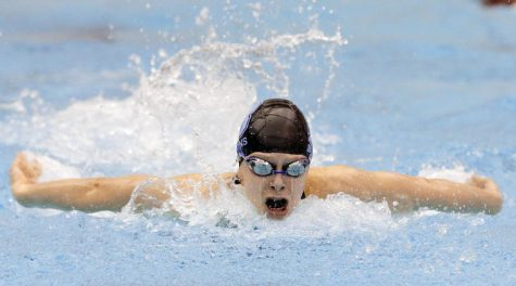 Bartlesville swim team swims out to state