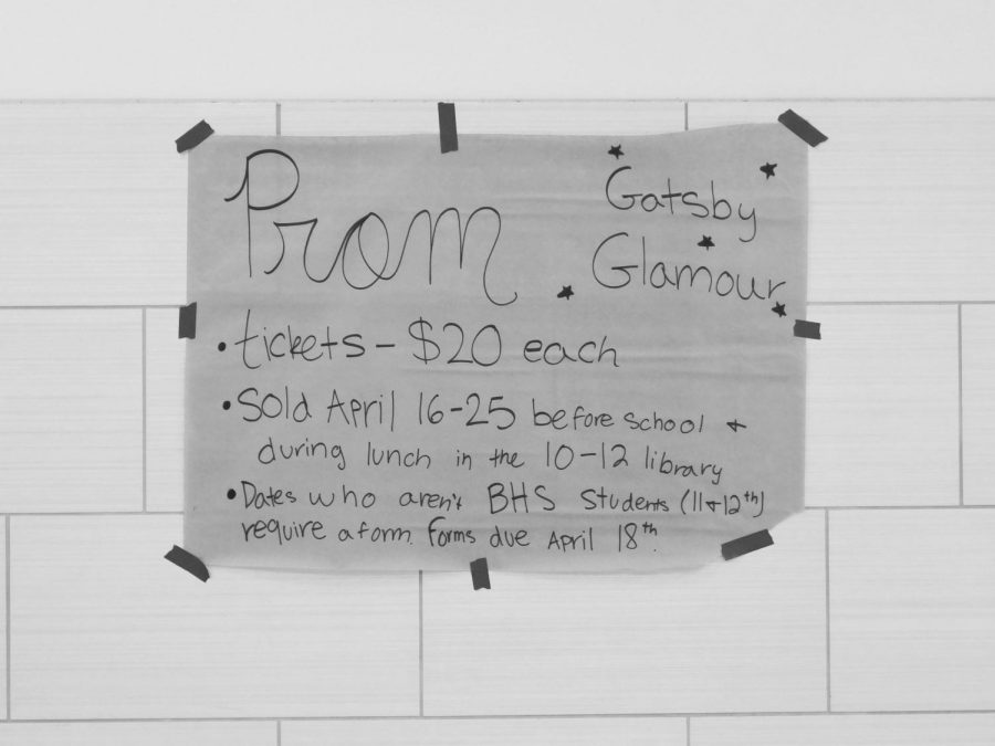 'Gatsby Glamour' Prom this Saturday