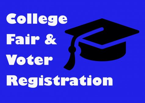 College fair and voter registration