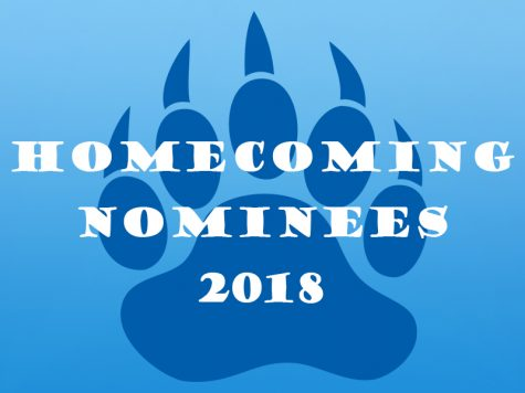 2018 Freshman-Senior Homecoming Nominees