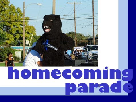 Homecoming parade downtown tonight