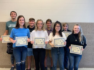 Students of the Month September-October